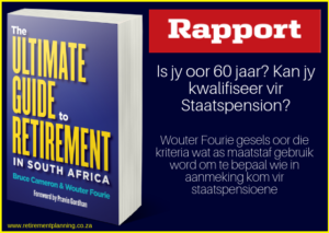 Wouter Rapport staatspension