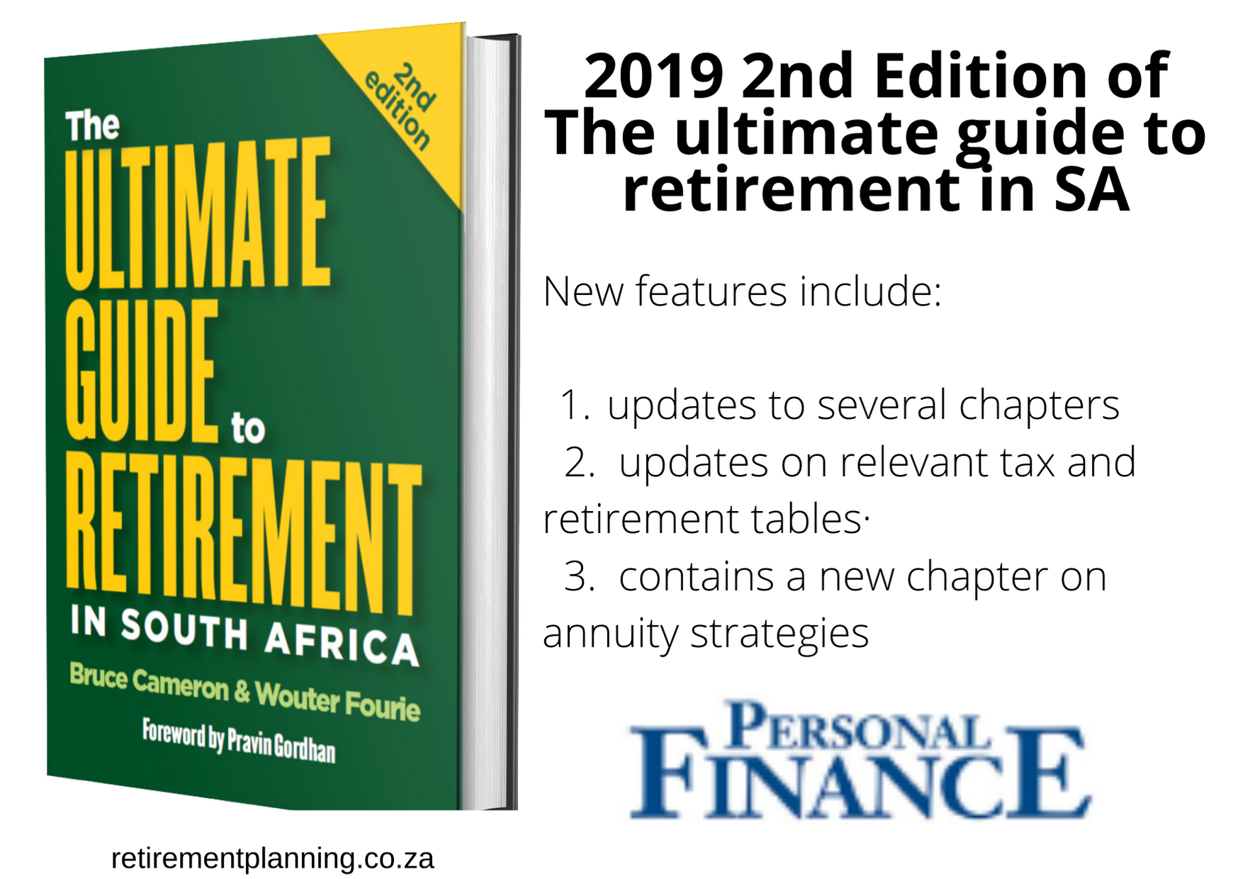 2019 2nd edition of Ultimate Guide to Retirement in SA Personal Finance