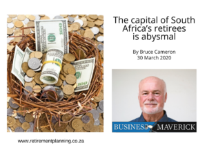 BruceCameron The capital of South Africas retirees is abysmal 30032020