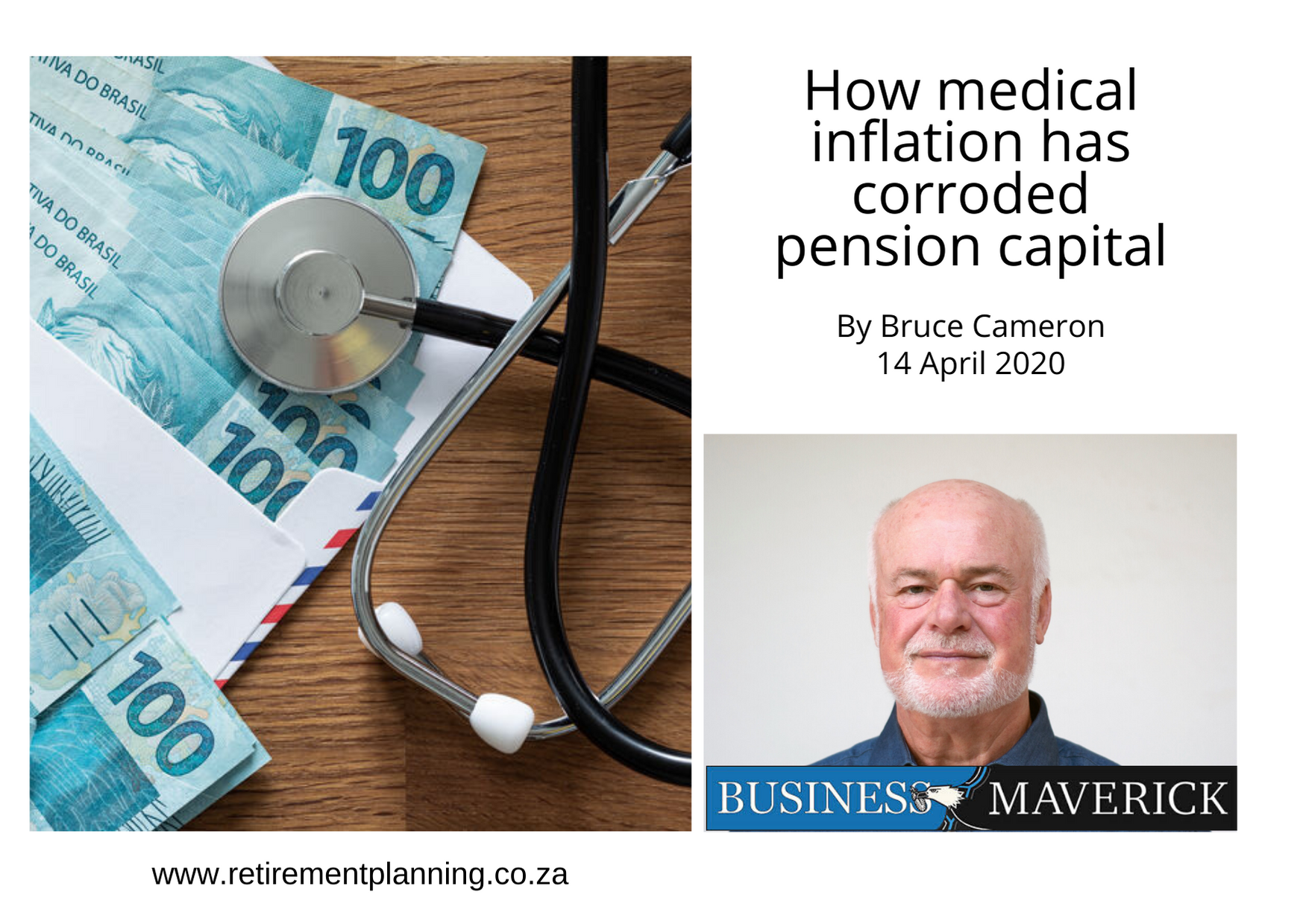 Bruce Cameron How medical inflation has corroded pension capital 14042020