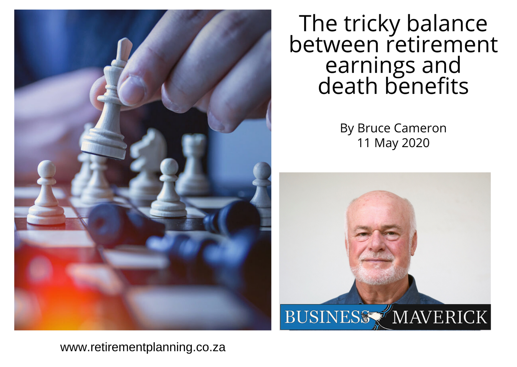 Bruce Cameron The tricky balance between retirement earnings and death benefits 11052020